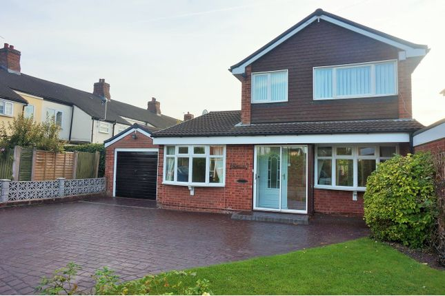 Thumbnail Detached house to rent in Masefield Close, Lichfield