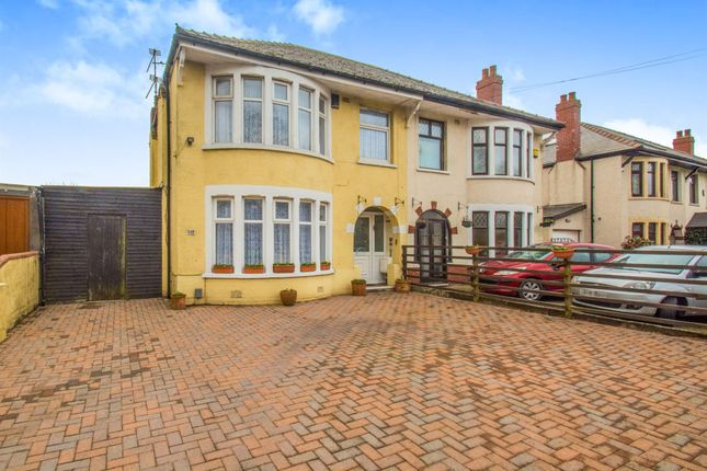 Thumbnail Semi-detached house for sale in Newport Road, Rumney, Cardiff
