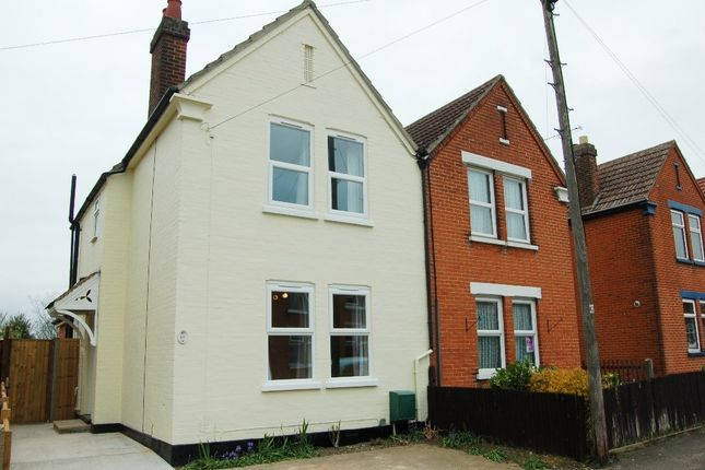 Thumbnail Semi-detached house for sale in Westbourne Road, Ipswich