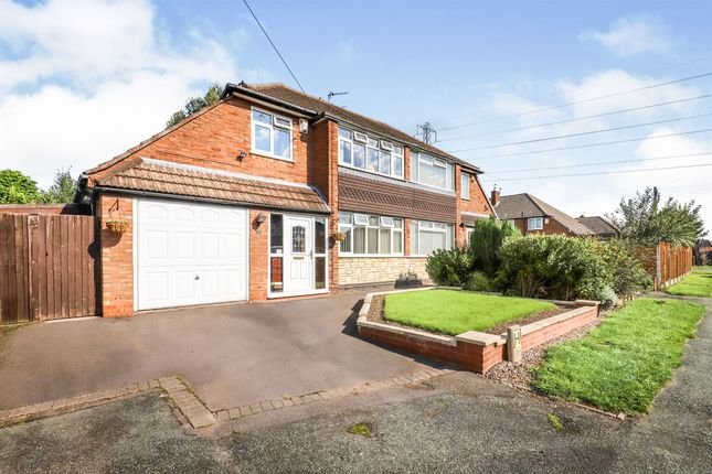 Thumbnail Semi-detached house for sale in Measham Way, Wednesfield, Wolverhampton