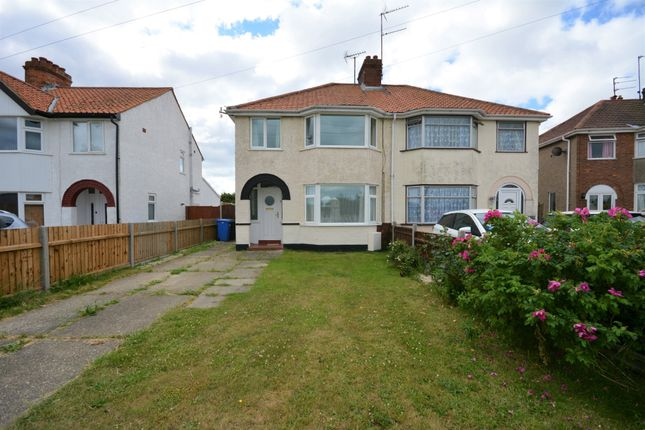 Thumbnail Semi-detached house to rent in Waveney Drive, Lowestoft