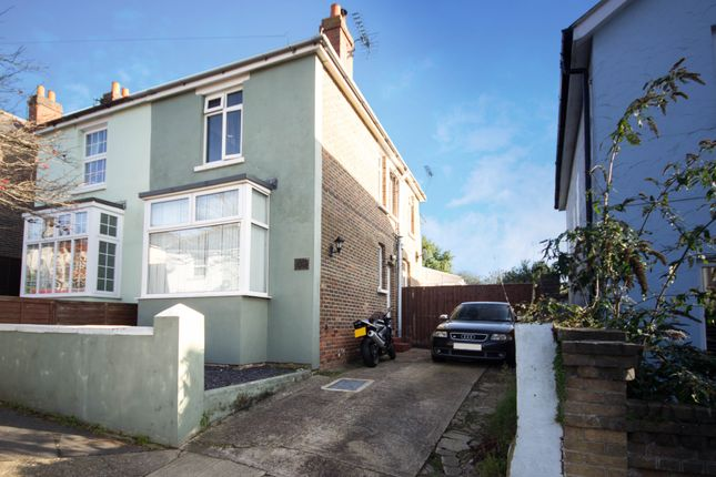 Thumbnail Semi-detached house for sale in St Michaels Avenue, Ryde