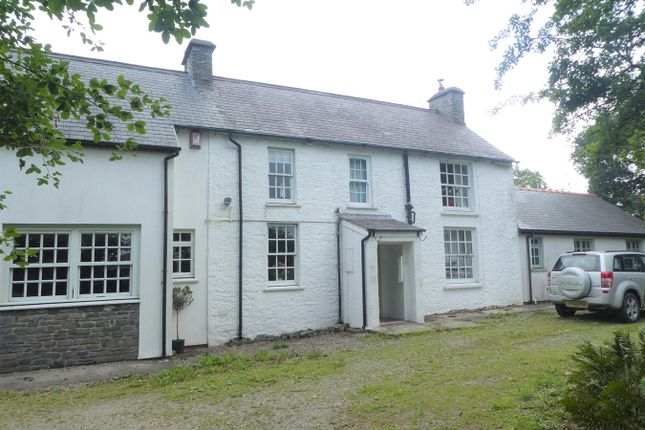 Thumbnail Detached house for sale in Llanon, Ceredigion