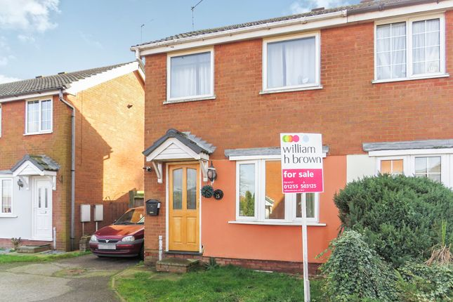 Thumbnail Semi-detached house for sale in Lydgate Close, Lawford, Manningtree