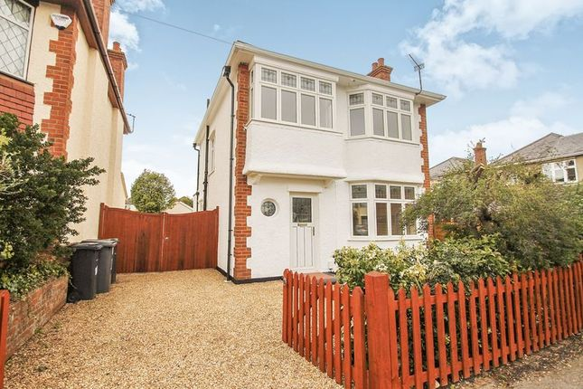 Thumbnail Detached house to rent in Barrie Road, Winton, Bournemouth