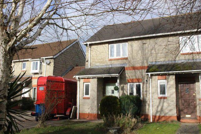 Thumbnail End terrace house for sale in Llys Dwynwen, Llantwit Major