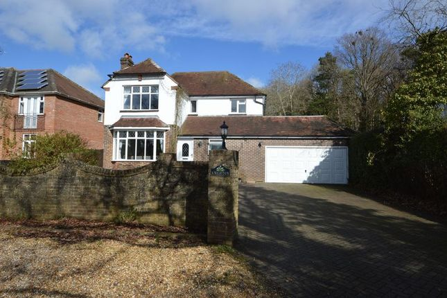 Thumbnail Detached house for sale in Hambledon Road, Denmead, Waterlooville