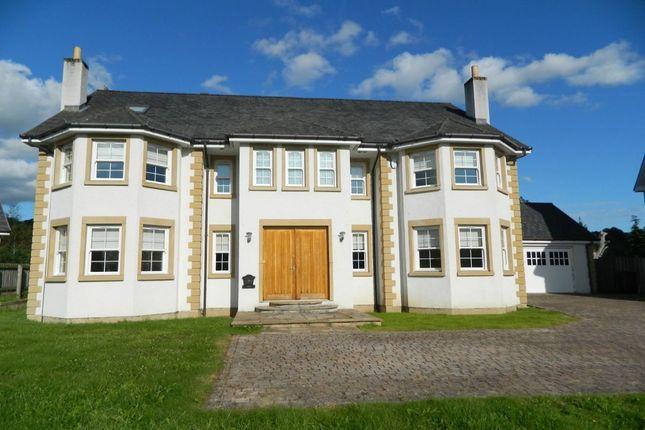Thumbnail Detached house for sale in Holmwood Park, Crossford, Carluke
