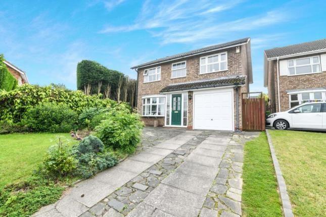 Thumbnail Detached house for sale in Cumbrian Croft, Halesowen, West Midlands