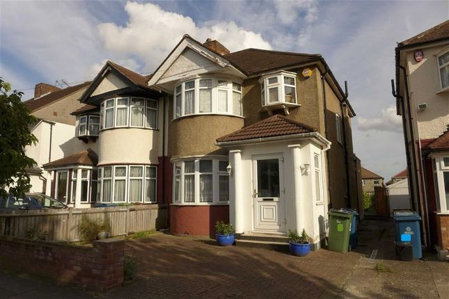 Thumbnail Semi-detached house for sale in Clifton Avenue, Stanmore, Middlesex
