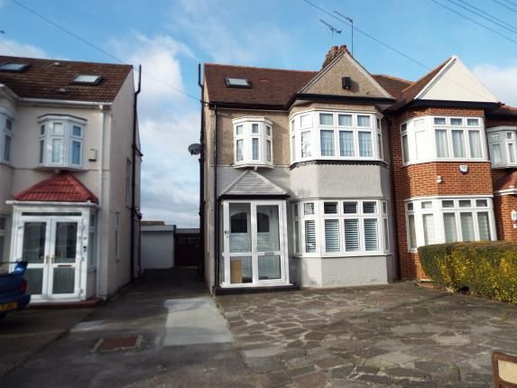 Thumbnail Semi-detached house for sale in Clayhall, Ilford, Essex