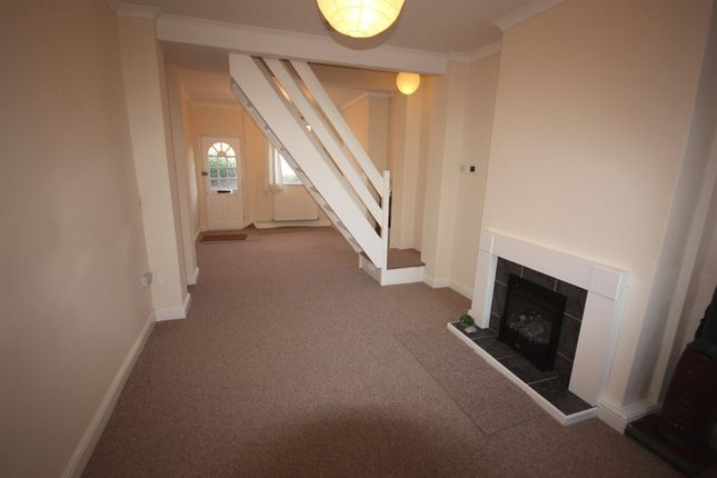 Thumbnail Terraced house to rent in The Bank, Scholar Green, Stoke-On-Trent