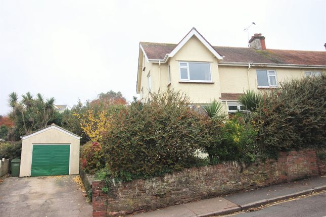 Thumbnail Semi-detached house for sale in Clifton Road, Paignton