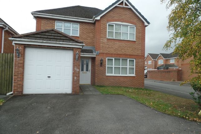 Thumbnail Detached house to rent in Dan Y Parc View, Bradley Gardens