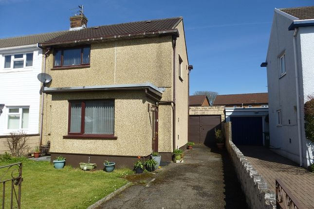 Thumbnail Semi-detached house for sale in Myddynfych Drive, Ammanford, Carmarthenshire.