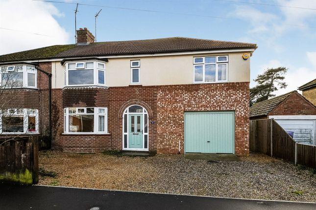 Thumbnail Semi-detached house for sale in Kensington Road, King's Lynn