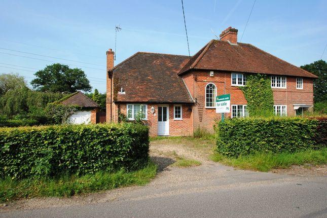 Thumbnail Semi-detached house for sale in Cedar Terrace, Thackhams Lane, Hartley Wintney, Hook