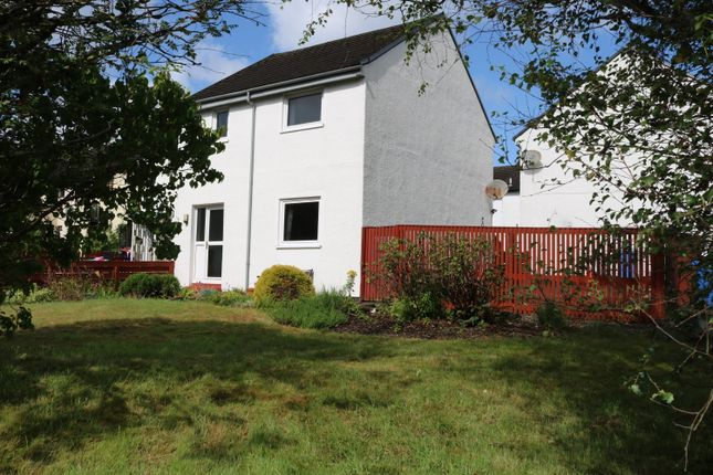 Thumbnail End terrace house for sale in Struan Road, Portree