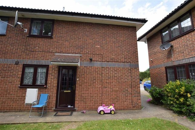 Thumbnail Semi-detached house for sale in Kingsley Court, Brentwood Road, Heath Park, Romford