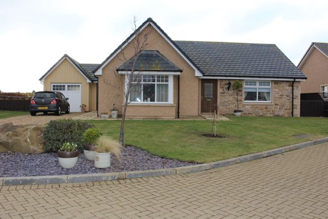Thumbnail Detached bungalow for sale in Carswell Steading, Alves, Moray