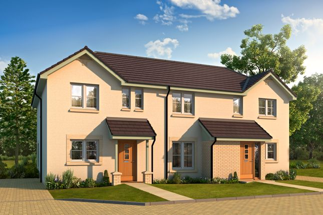 Thumbnail Semi-detached house for sale in Plot 21, Fairways View, Off Sandy Road, Irvine