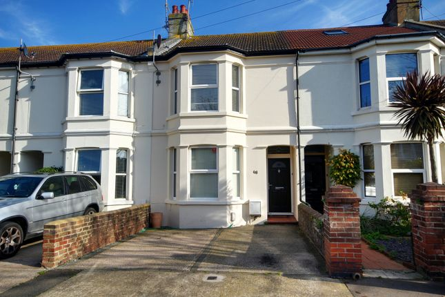 Thumbnail Terraced house to rent in Windsor Road, Worthing