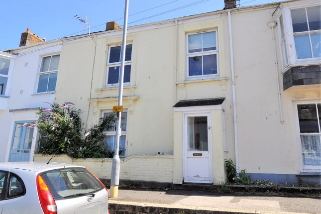 Thumbnail Terraced house to rent in Wellington Terrace, Falmouth