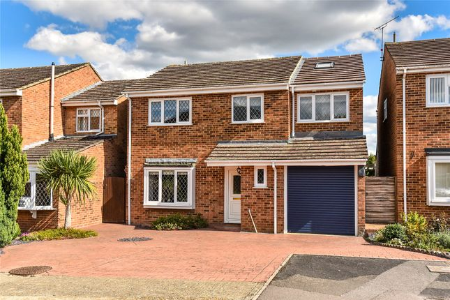 Thumbnail Detached house for sale in Globe Farm Lane, Blackwater, Camberley