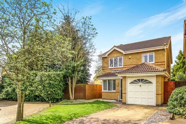 Thumbnail Detached house for sale in Keats Drive, Kettering