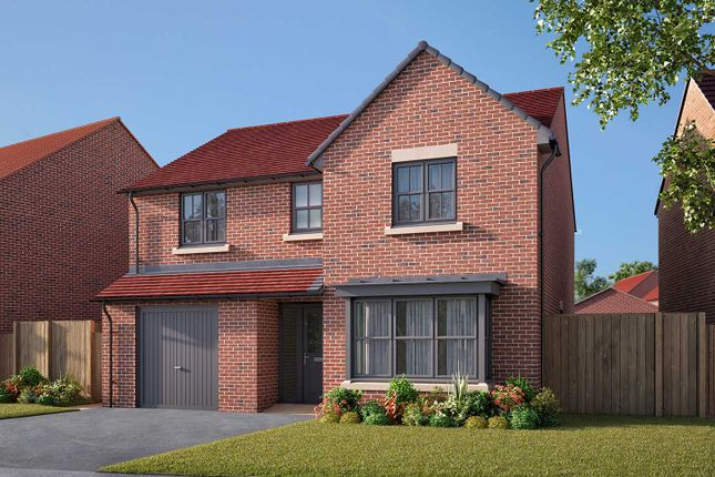 "Thumbnail Detached house for sale in ""The Haxby"" at Cautley Drive, Killinghall, Harrogate"