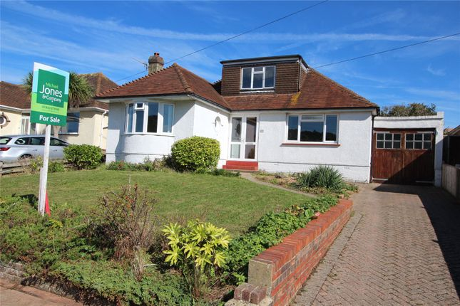 Thumbnail Bungalow for sale in Maytree Avenue, Findon Valley, Worthing, West Sussex