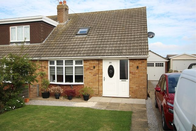 Thumbnail Semi-detached bungalow for sale in 20 Ryecroft Drive, Withernsea, East Riding Of Yorkshire