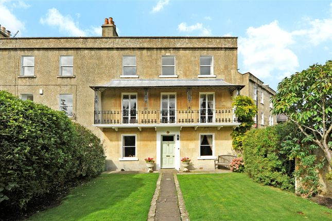 Thumbnail Terraced house for sale in Church Road, Combe Down, Bath
