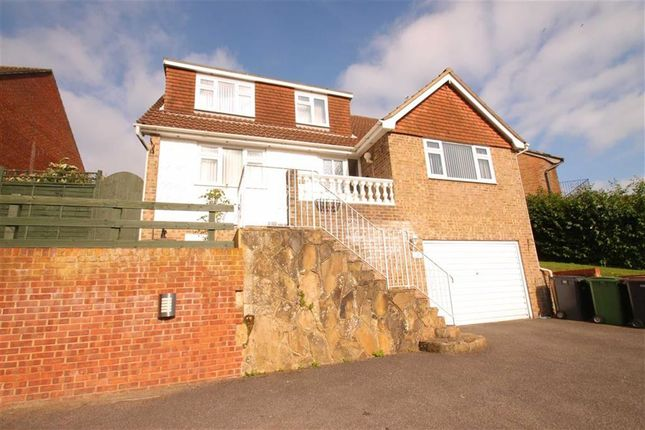Thumbnail Detached house for sale in Wartling Close, St Leonards-On-Sea, East Sussex