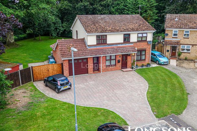 Thumbnail Detached house for sale in Montagu Close, Swaffham