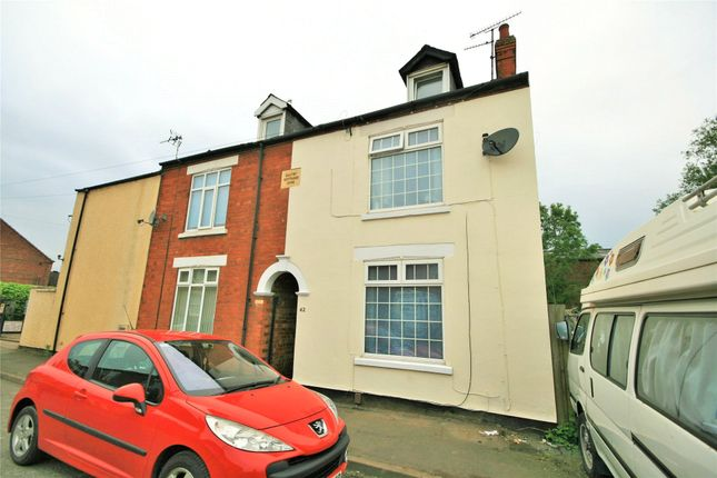 Thumbnail End terrace house to rent in Alexandra Road, Grantham