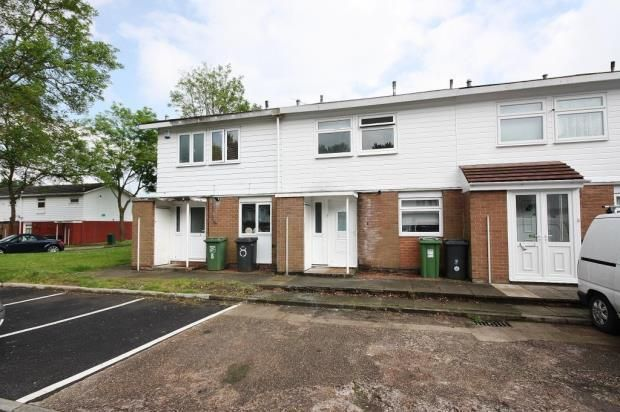 Thumbnail Terraced house to rent in Belbroughton Close, Redditch