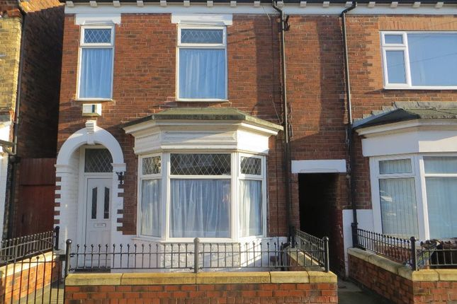 Thumbnail Terraced house for sale in De La Pole Avenue, Hull