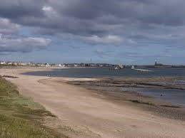 Beach of Sandy Bay Holiday Park, Newbiggin-By-The-Sea NE63