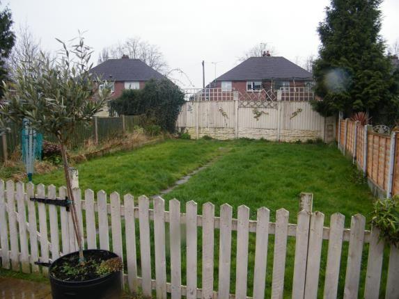 Garden Area of Selworthy Drive, Crewe, Cheshire CW1