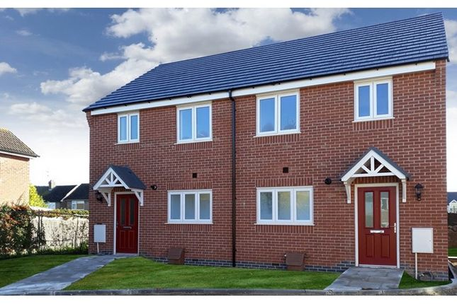 3 bedroom semi-detached house for sale in 17 And 19 Moncrief Drive, Asfordby, Leicestershire