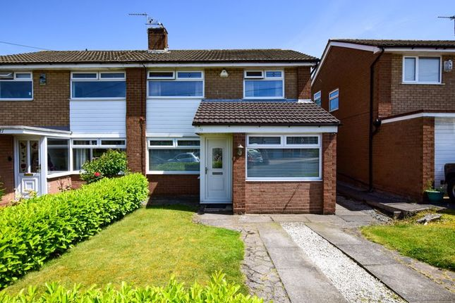 Thumbnail Semi-detached house for sale in Mardale Crescent, Lymm