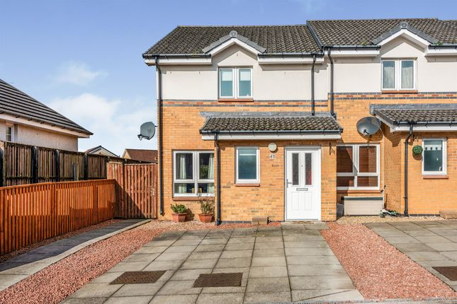 Thumbnail End terrace house for sale in Bryden Road, Whins Of Milton, Stirling