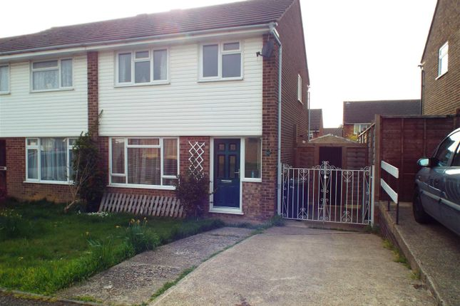 Thumbnail Semi-detached house to rent in Anglesey Avenue, Hailsham