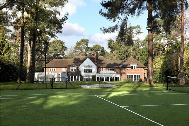 Thumbnail Detached house for sale in West Road, St George's Hill, Weybridge, Surrey