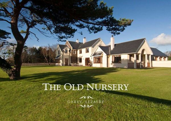Thumbnail Detached house for sale in The Old Nursery, The Garey, Lezayre