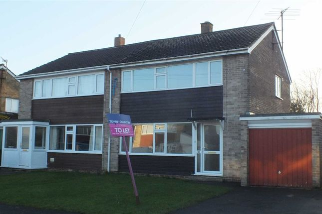 Thumbnail Semi-detached house to rent in Hawkeridge Park, Westbury, Wiltshire