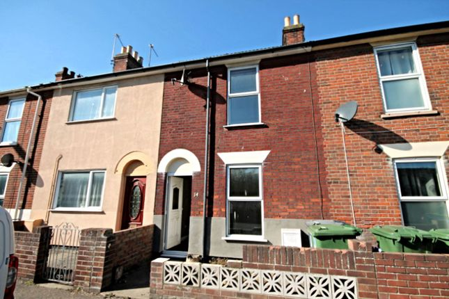 Thumbnail Terraced house to rent in Admiralty Road, Great Yarmouth