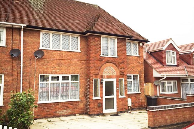 Thumbnail Semi-detached house for sale in Avoca Close, Leicester