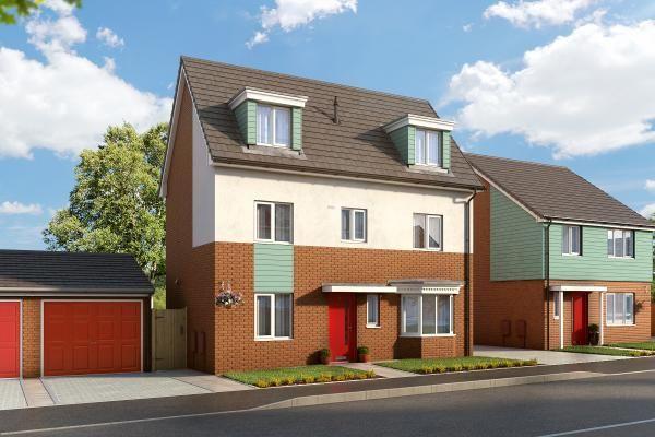 "Thumbnail Property for sale in ""The Thornton At Bardon View, Coalville"" at Bardon Road, Coalville"